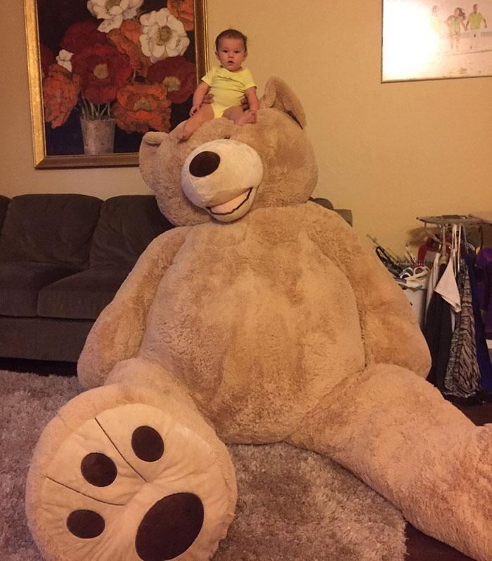 grandfather-baby-gift-giant-teddy-bear-madeline-jane-sabrina-gonzalez-6