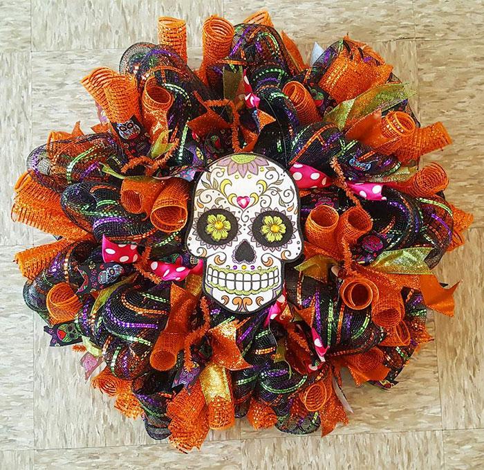 Halloween Wreaths