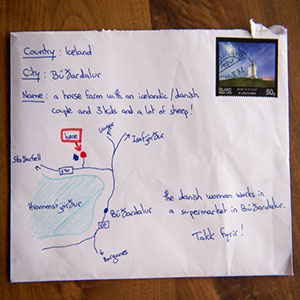 Desperate Man Without Address Draws Map On Envelope Instead, And It Gets Delivered