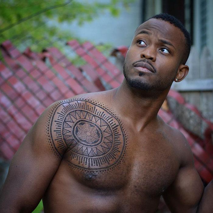 Menna Trend Sees Men Wearing Intricate Henna Tattoos Bored Panda