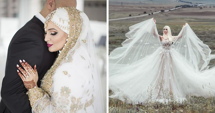 58 Brides Wearing Hijabs On Their Big Day Look Absolutely