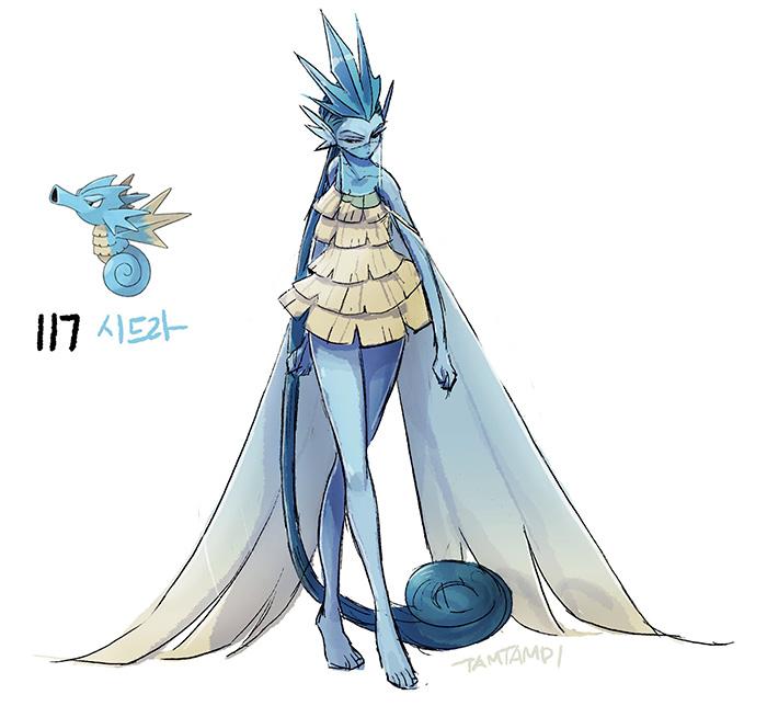 Pokemon Seadra Images
