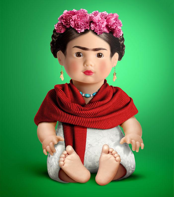 Idollz: I Recreate Pop Idols As Dolls