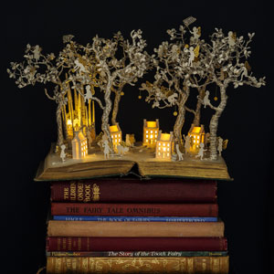 Old Books Turned Into Fairytale Sculptures By Su Blackwell