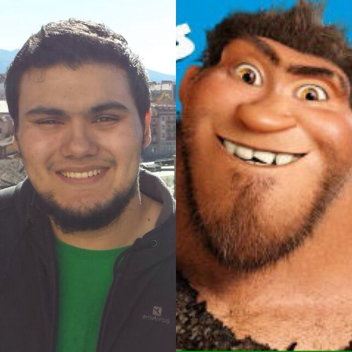 The Dad From The Croods