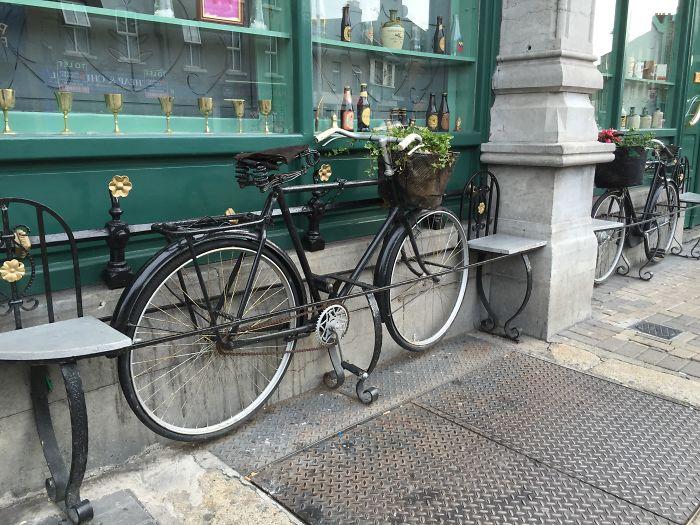 Bicycle Bench - Dublin (ireland)