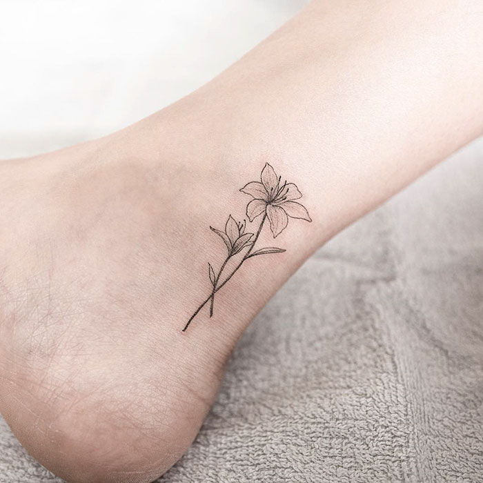 15+ Delicately Beautiful Tattoos By South Korean Artist