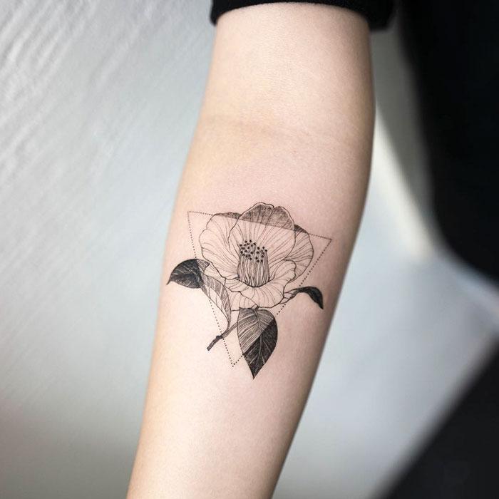 Minimalist tattoo bored panda for Minimal art tattoo