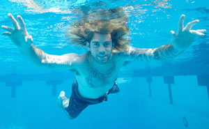 Baby From Nirvana's Album Cover Recreates Iconic Photograph 25 Years Later