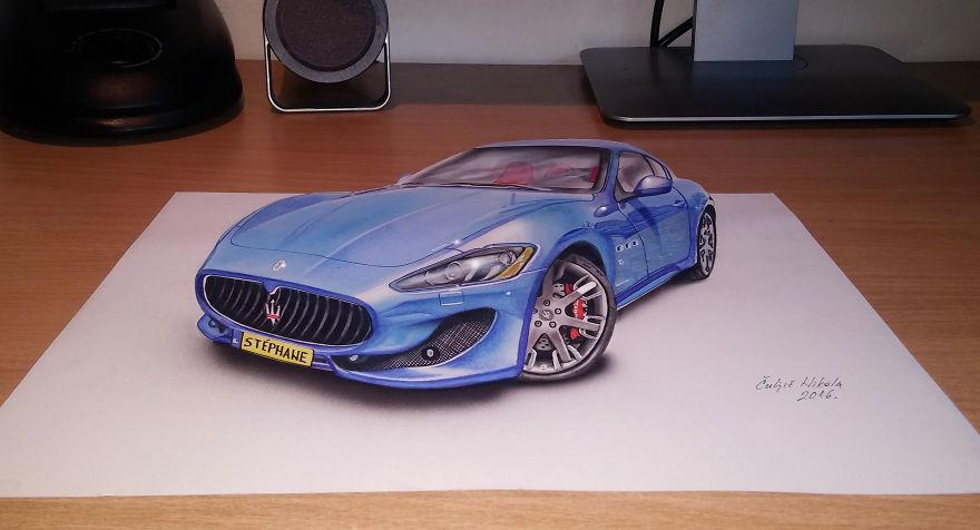 3d Maserati Granturismo