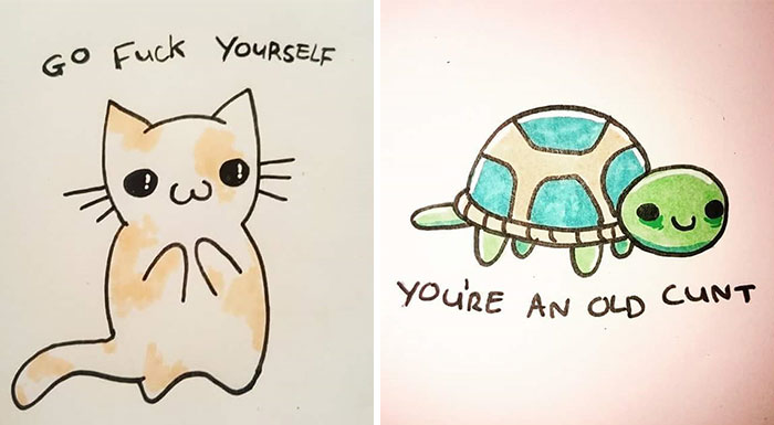 36 Offensively Cute Greeting Cards (Warning: Strong Language)