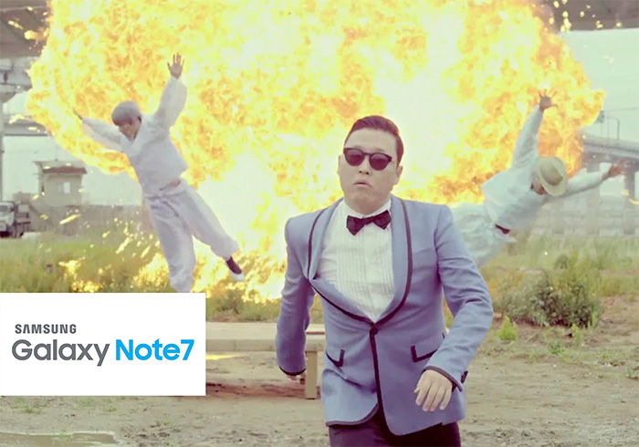 New Ad For The Samsung Galaxy Note 7