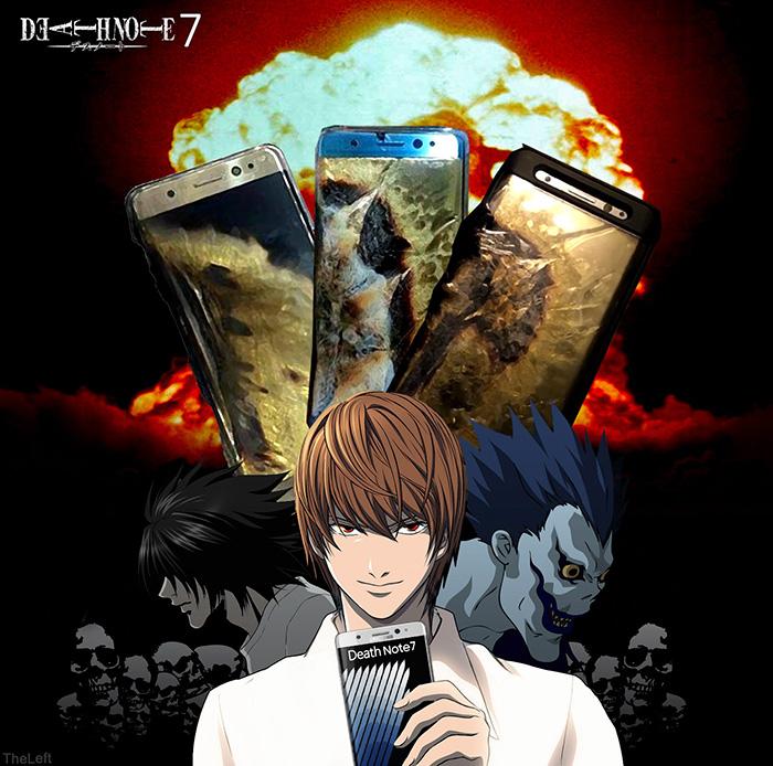 Samsung Death Note 7