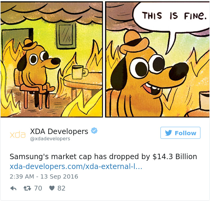 Funny Reaction To Samsung Galaxy Note 7