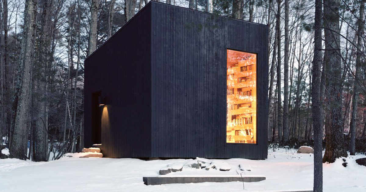 This Secluded Library In The Woods Is Every Book Lover's Dream
