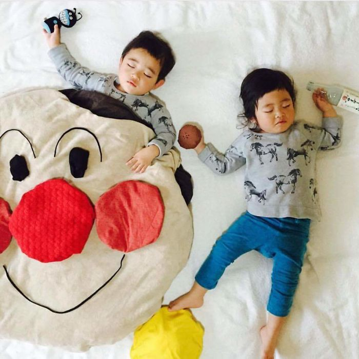 i sleep Japan moms