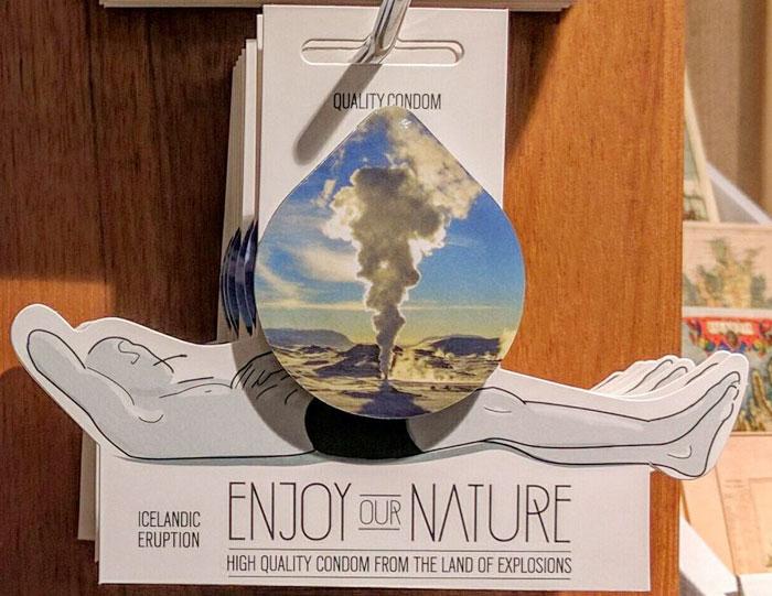 Icelandic Condoms Reflect Country's Explosive Nature