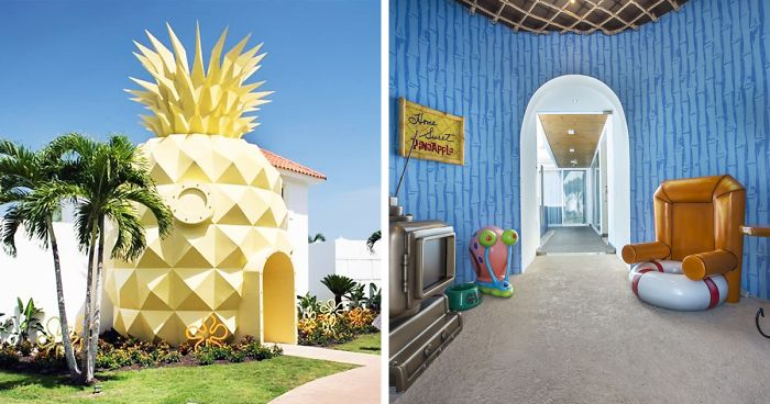 Spongebob Fans Can Now Sleep In A Real-Life Pineapple Hotel