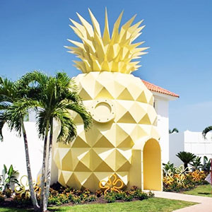 Spongebob Fans Can Now Sleep In A Real-Life Pineapple Hotel, Just Not Under The Sea