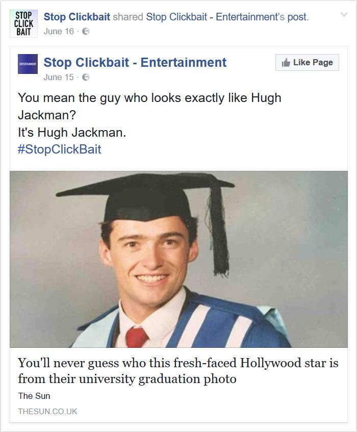 blog facebook dropper clickbait