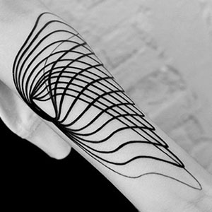 10+ Minimalist Digitally-Designed Tattoos By Russian Artist
