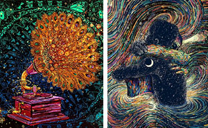 Hypnotizing GIFs By James R. Eads And The Glitch