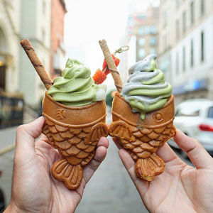 New Yorkers Are Going Crazy For These Adorable Fish Ice Creams