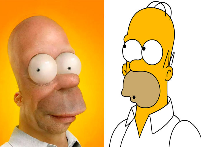 Homero From The Simpsons