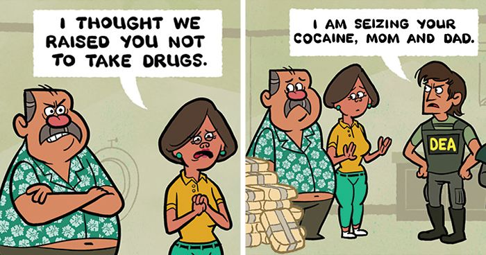 119 Cartoons By Toon Hole That End So Unexpectedly It Will Make You Laugh Bored Panda