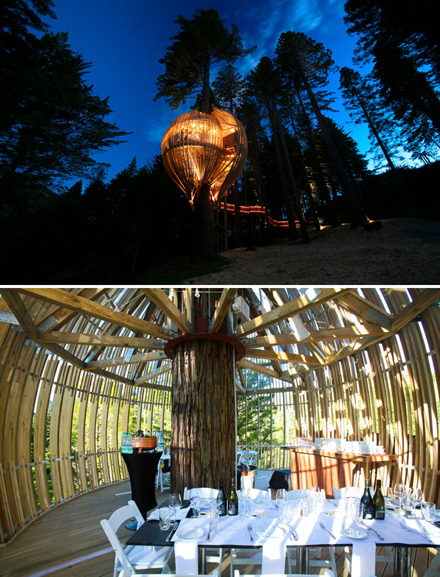 Enjoy Your Special Event In The Sustainable Tree House, Redwoods Treehouse, Warkworth, New Zealand
