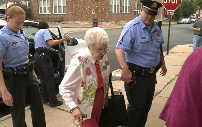 102-Year-Old Woman Gets Arrested, Checks 'Getting Arrested' Off Bucket List