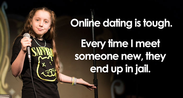 This 11-Year-Old Comedian Is Killing Audiences With Her Hilariously Inappropriate Jokes