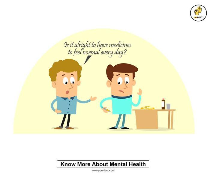 Medicines Makes You Normal?