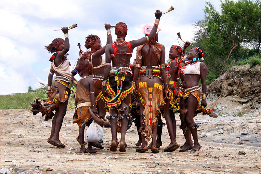 Ritual Dance, Hamar People‏