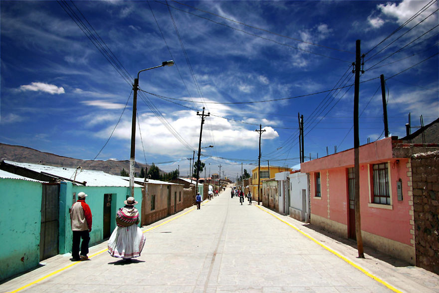 Main Street, Chivay, Perú