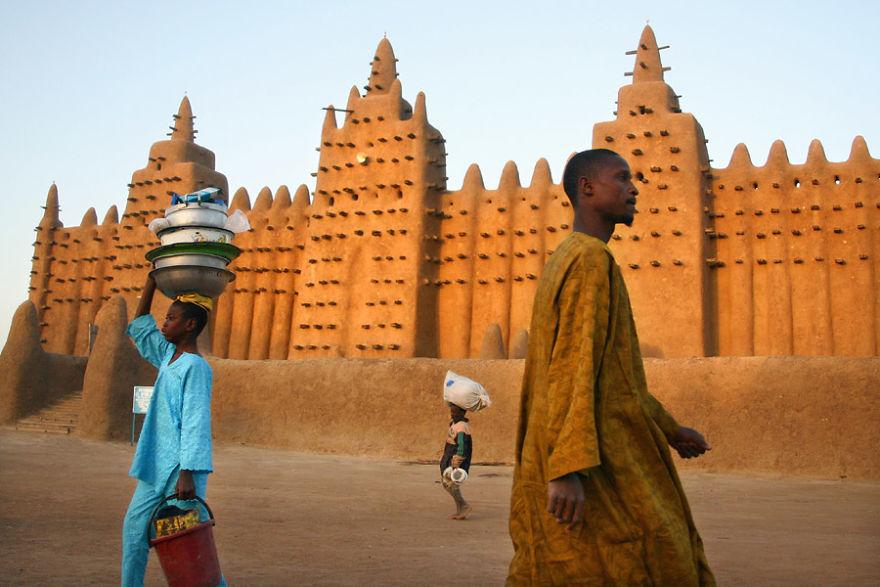 The Beautiful city Of Djenné, Mali