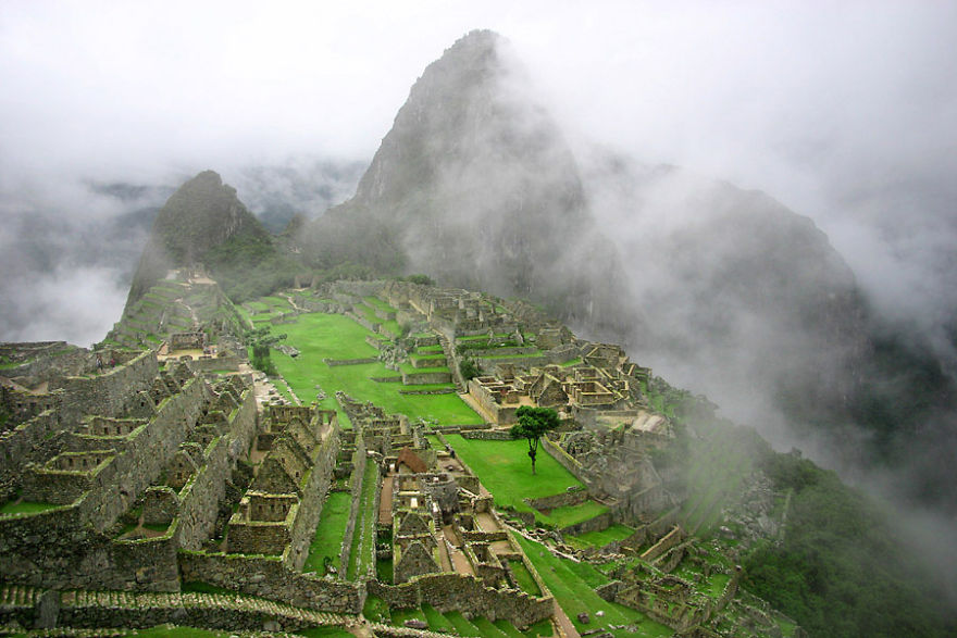 The Historic Sanctuary Of Machu Picchu