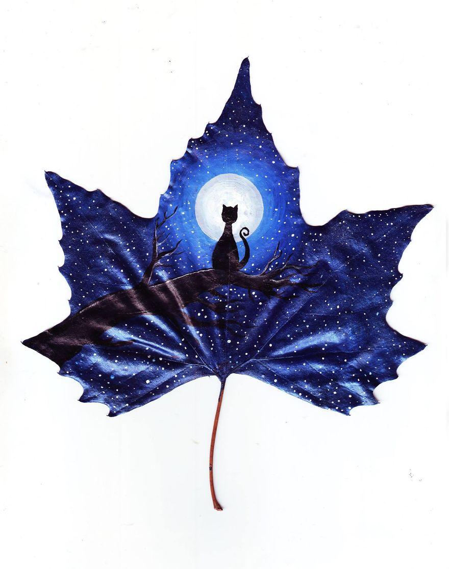 """""""24 Опавшие листья"""" - амбулаторного из этого мира арт проект, созданный с любовью двух грузинских художников"""