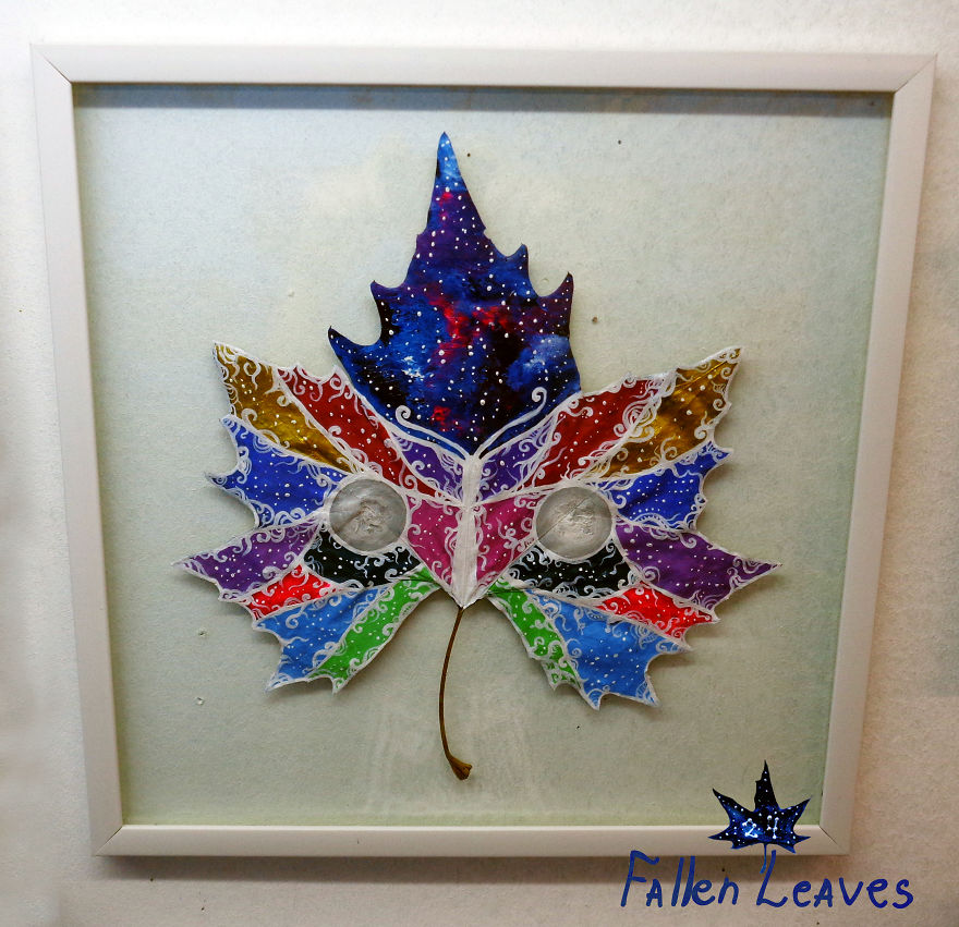 """""""24 Fallen Leaves"""" - An Out-of-this-world Art Project Created With The Love Of Two Georgian Artists"""