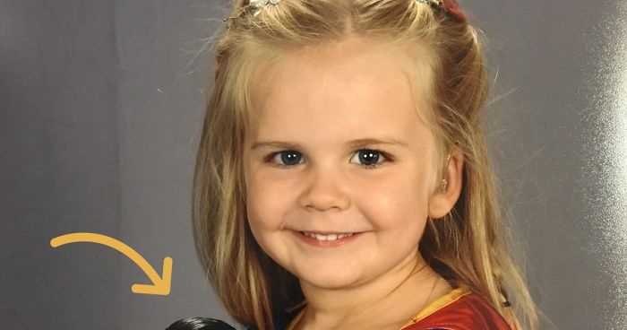 This 3-Year-Old Girl Chose Her Own School Picture Day Outfit, and Its Adorable