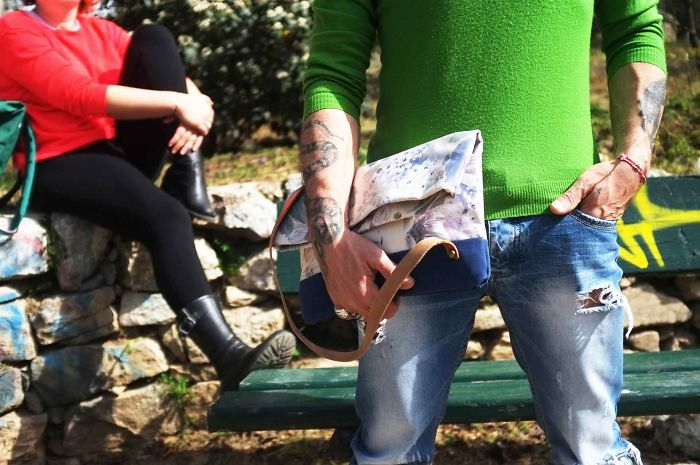 Upcycling Fashion Bags By 3quarters