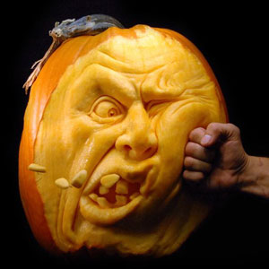 Terrifying Pumpkin Carvings By Ray Villafane