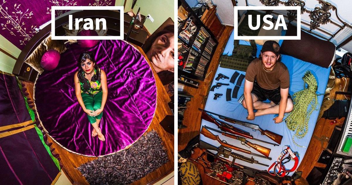 How Millennials' Bedrooms Look Around The World