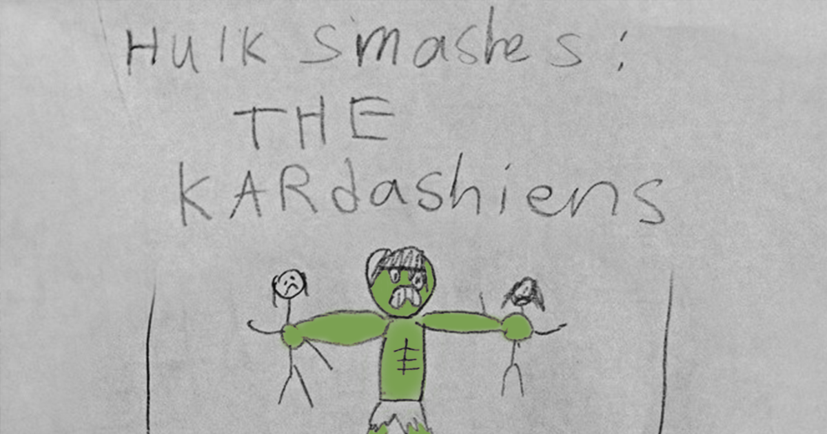 32 Of The Creepiest Children's Drawings Ever