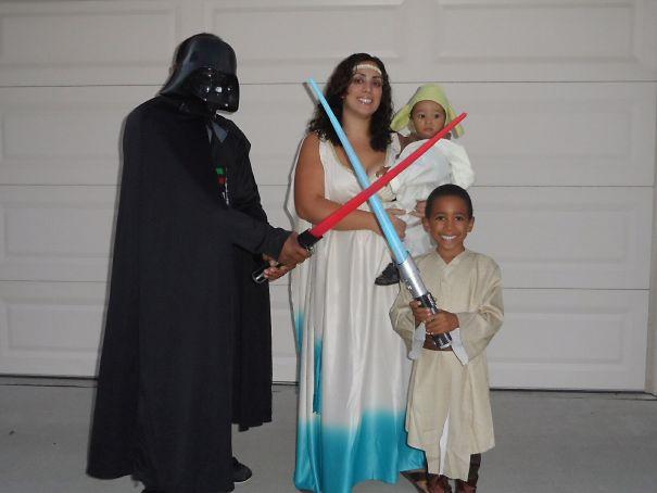 Darth, Padme, Yoda & Luke