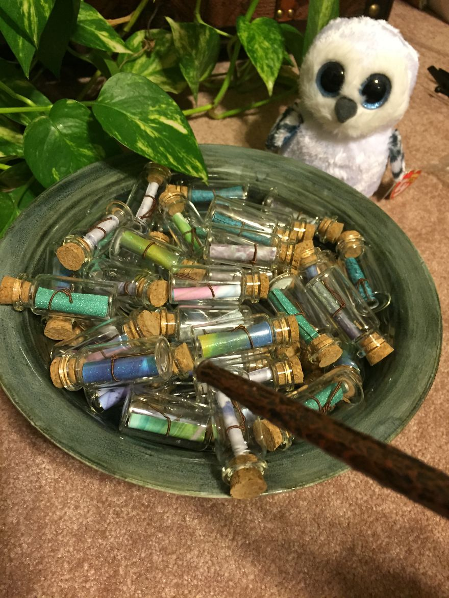 I Made My Wife A Harry Potter Inspired Pensieve Full Of Our Happiest Memories