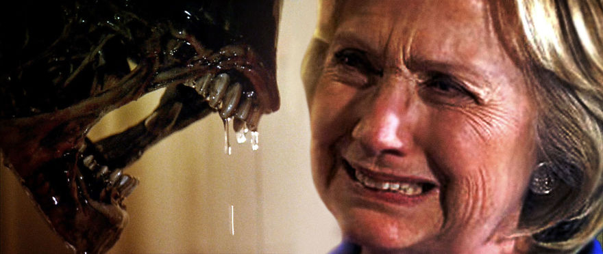 Alien - Hillary Clinton