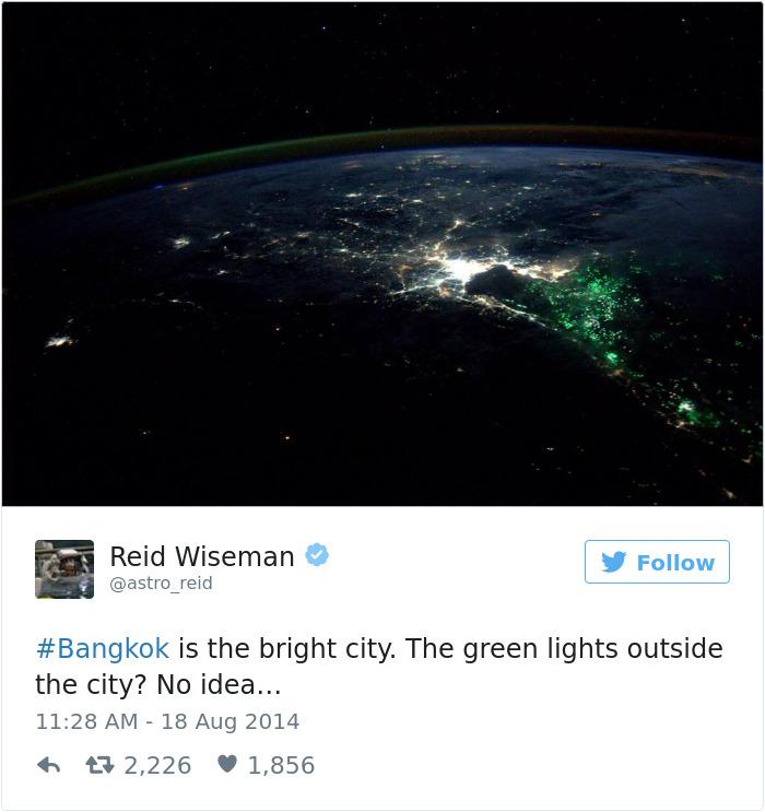 Astronaut Tweets