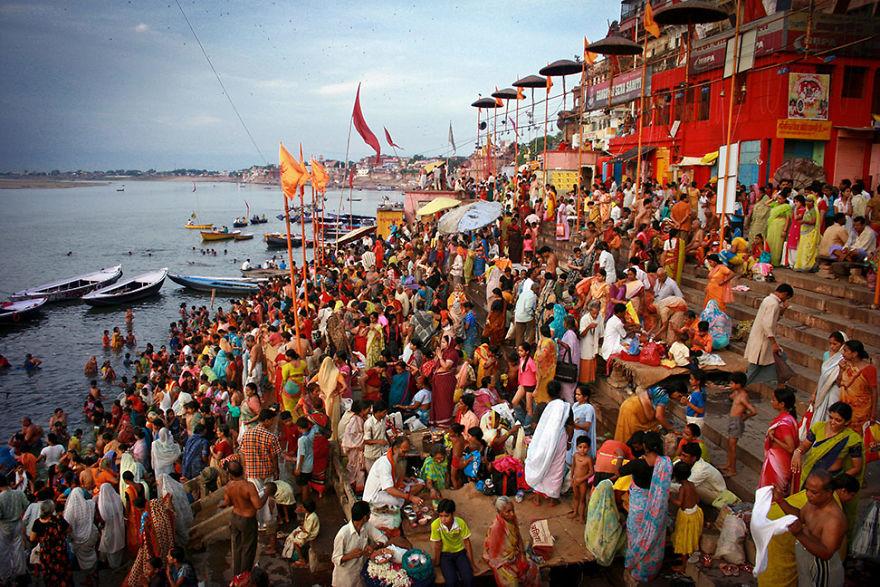 Sunrise On Timeless Varanasi, India