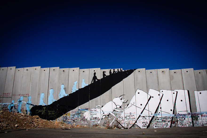 Separation Wall Between Israel And The Palestinian Occupied Territories, Bethlehem